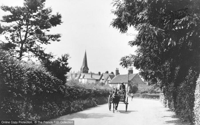 Photo of Wraysbury, Station Road 1904