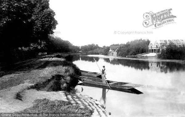 Photo of Wraysbury, The Ferry 1890