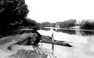 Wraysbury, the Ferry 1890