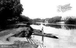 Wraysbury, The Ferry 1890