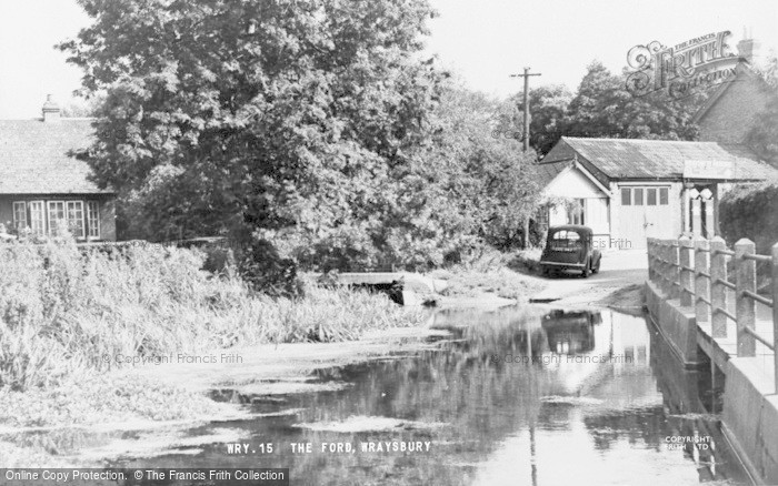 Photo of Wraysbury, The Ford c.1955