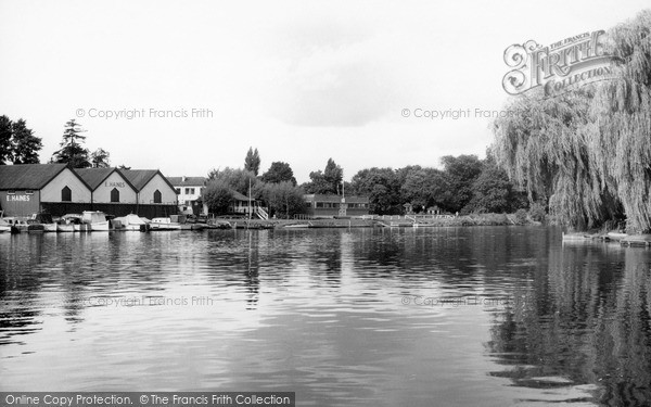 Photo of Wraysbury, The River Thames At Manor Ferry c.1965