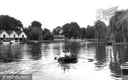 Wraysbury, The Thames c.1955