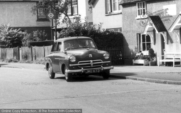 Photo of Wraysbury, Vauxhall Car c.1955