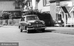 Wraysbury, Vauxhall Car c.1955