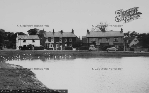 Photo of Wrea Green, Houses By The Duck Pond c.1965