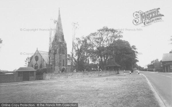 Photo of Wrea Green, The Church Of St Nicholas c.1965