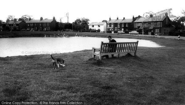 Photo of Wrea Green, The Duck Pond c.1960