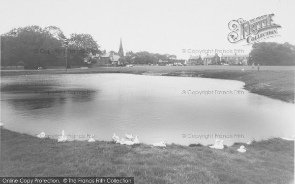 Photo of Wrea Green, The Duck Pond c.1965