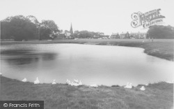 Wrea Green, The Duck Pond c.1965