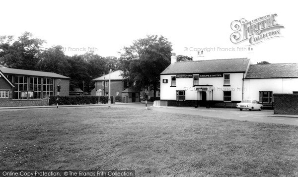 Photo of Wrea Green, The Grapes Hotel c.1965