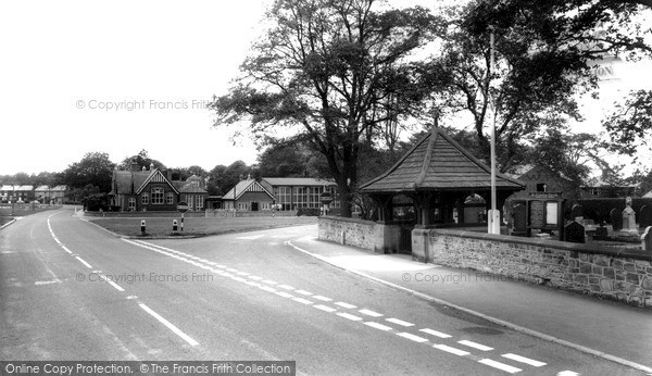 Photo of Wrea Green, The Village c.1965