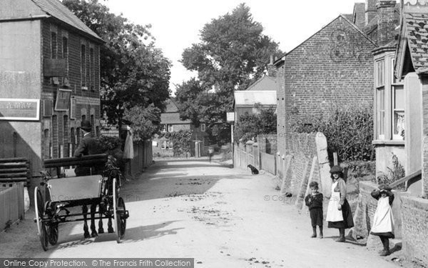 Photo of Wrecclesham, Children In The Village 1907