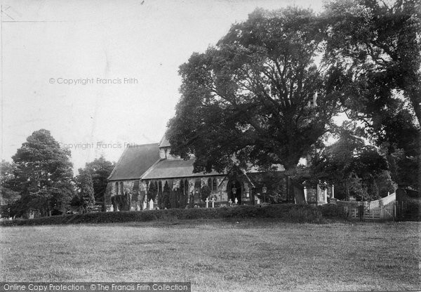 Photo of Wrecclesham, Church 1906
