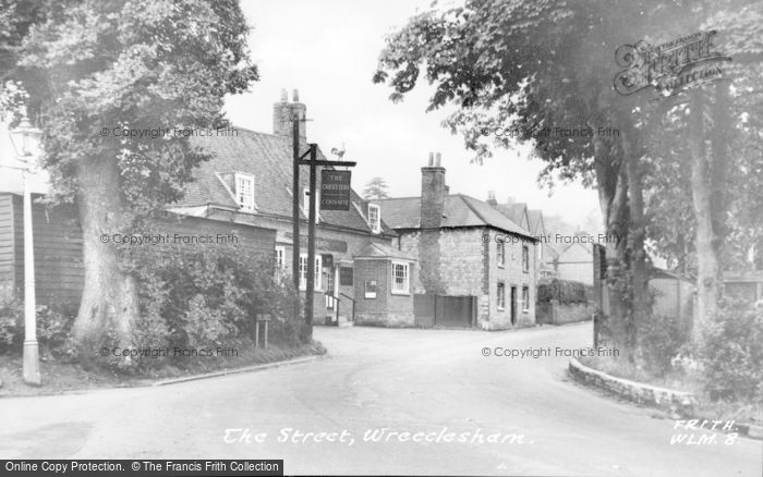 Photo of Wrecclesham, The Street c.1955