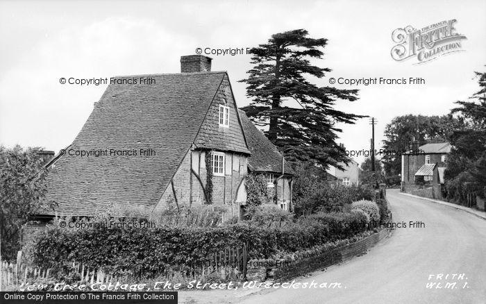 Photo of Wrecclesham, Yew Tree Cottage, The Street c.1955