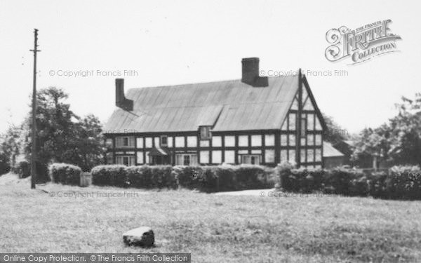 Photo of Wrenbury, A House By The Green c.1955