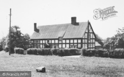 Wrenbury, A House By The Green c.1955