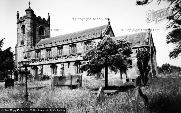 Photo of Wrenbury, St Margaret's Church c.1955