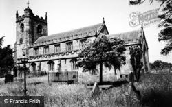 Wrenbury, St Margaret's Church c.1955