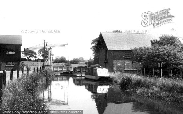 Photo of Wrenbury, The Canal c.1955