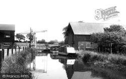 Wrenbury, The Canal c.1955