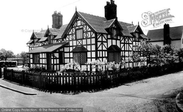 Photo of Wrenbury, The Doctor's House c.1955