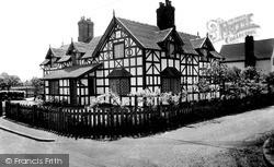 Wrenbury, The Doctor's House c.1955