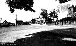 Wrenbury, The Green c.1955