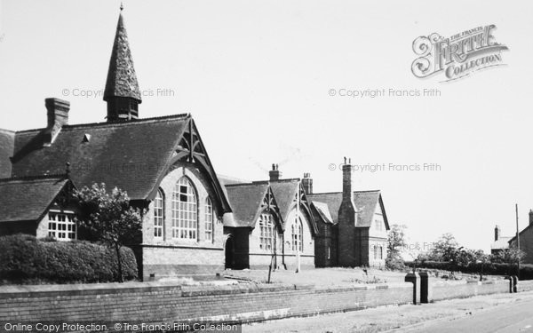Photo of Wrenbury, The School c.1955
