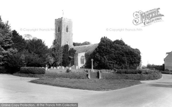 Photo of Wrentham, Church Of St Nicholas c.1965