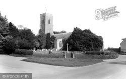 Wrentham, Church Of St Nicholas c.1965
