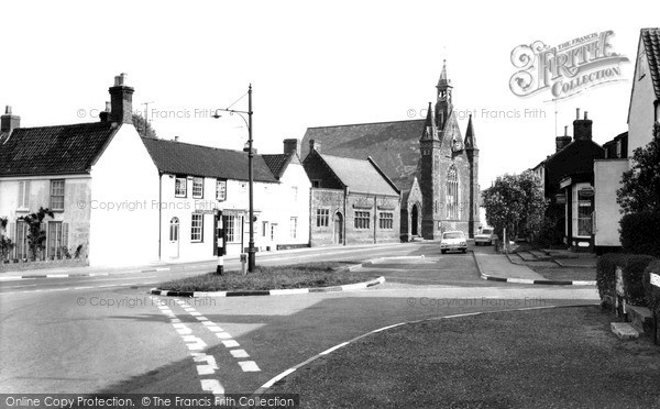Photo of Wrentham, Cross Roads c.1965