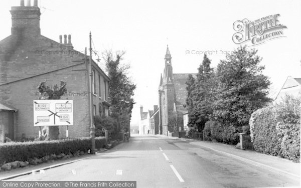 Photo of Wrentham, High Street  c.1965