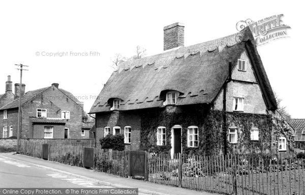 Photo of Wrentham, Thatch Cottage c.1955