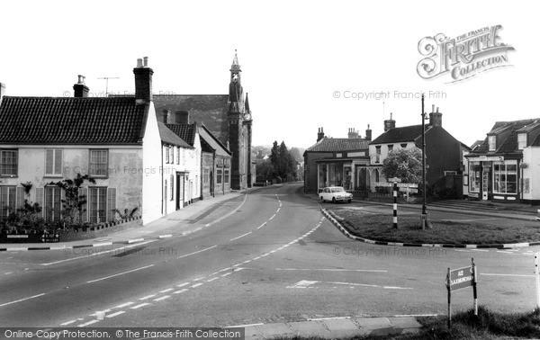 Photo of Wrentham, The Cross Roads c.1965