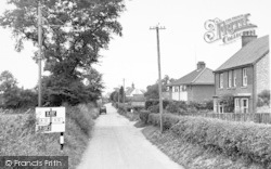 Wrentham, The Village c.1955