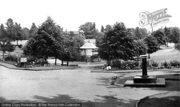 Photo of Wrexham, Bellevue Park c.1955