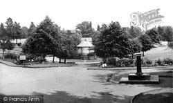 Wrexham, Bellevue Park c.1955