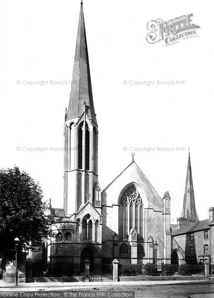 Photo of Wrexham, Brynyffynnon Wesleyan Church 1895