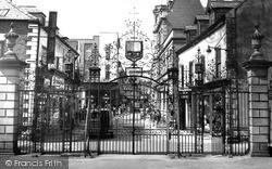 Wrexham, Church Gates c.1965