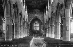 Wrexham, Church Interior 1903