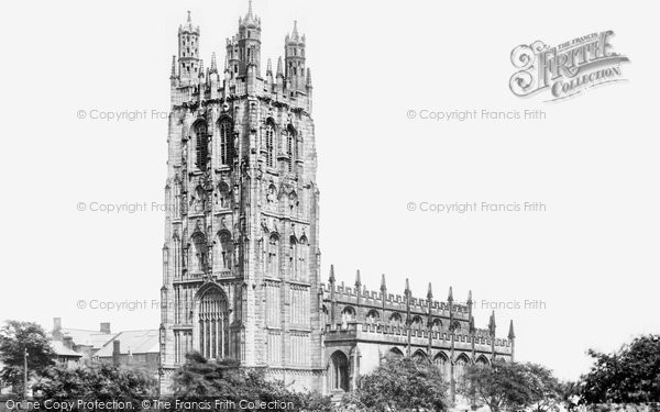 Photo of Wrexham, Church Of St Giles 1895
