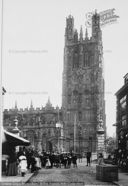 Photo of Wrexham, Church Of St Giles 1903