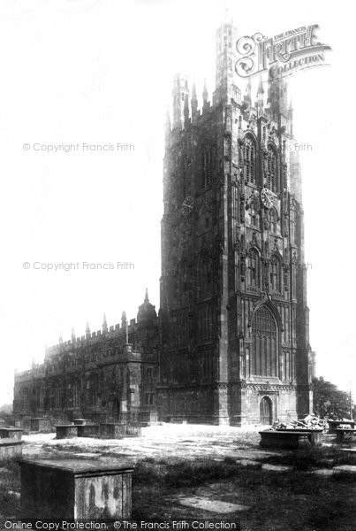 Photo of Wrexham, Church Of St Giles 1903