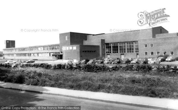 Photo of Wrexham, Denbighshire Technical College c1965