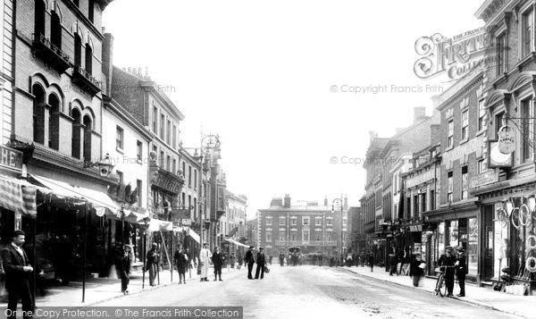 Photo of Wrexham, High Street 1903
