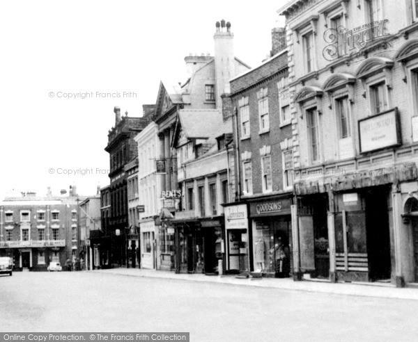 Photo of Wrexham, High Street c.1960