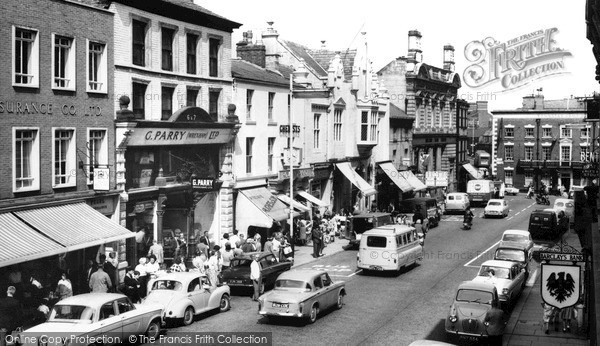 Photo of Wrexham, High Street c.1965