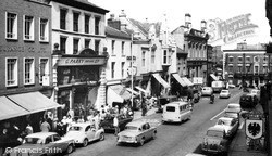 Wrexham, High Street c.1965